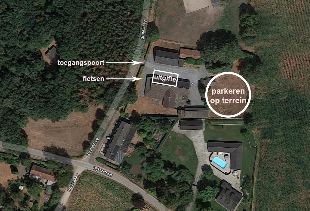 Parkeren bij Herenboeren-locatie Alt Weert (klik voor een vergroting)